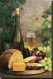 Wine Club l Stretched Canvas Print by Fred Wood