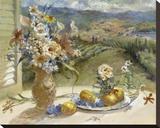Citrons de Toscane Reproduction sur toile tendue par Ruth Baderian