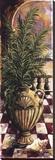 Palm Breezeway I Stretched Canvas Print by Sherry Strickland