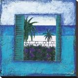Francoise Persillon - View Of Nice l Reprodukce na plátně