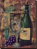 Vintner's Select III Stretched Canvas Print by Tara Gamel