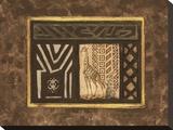 Excursión africana I Reproducción en lienzo de la lámina por Merri Pattinian