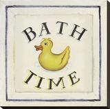 Bathtime I Stretched Canvas Print by  Zaricor