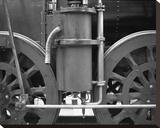 Trains De La France IV Reproduction sur toile tendue par Teo Tarras