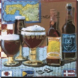 Beer & Ale IV Reproduction transférée sur toile par  Fischer & Warnica