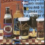 Beer & Ale I Reproduction transférée sur toile par  Fischer & Warnica