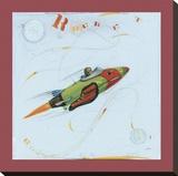Rocket Leinwand von Paul Gibson