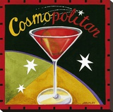 Cosmo Stretched Canvas Print by Jennifer Brinley