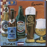 Beer & Ale II Stretched Canvas Print by  Fischer & Warnica