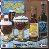 Beer & Ale IV Stretched Canvas Print by  Fischer & Warnica