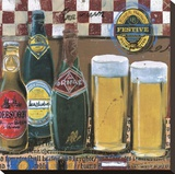 Beer & Ale III Stretched Canvas Print by  Fischer & Warnica