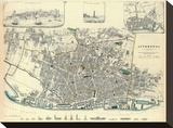 Liverpool, England, c.1836 Stretched Canvas Print