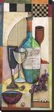 Zinfandel Toile tendue sur châssis par Jennifer Bonaventura