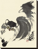 Running Stretched Canvas Print by Wu Yanpei