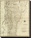 Vermont, c.1796 Stretched Canvas Print by John Reid