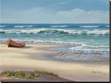 Sandpiper March II Reproduction sur toile tendue par Sung Kim