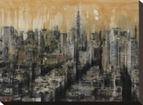 NYC6 Stretched Canvas Print by Dario Moschetta