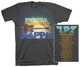 Dweezil Zappa - Zappa Plays Zappa 2012 Tour T-shirts