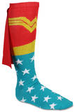 Wonder Woman Cape Knee High Socks Novelty