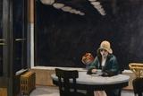 Restaurante automático Pósters por Edward Hopper