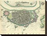Antwerp, Belgium, c.1832 Stretched Canvas Print