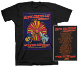 Elvis Costello - New Wheel 2012 Tour T-shirts