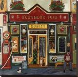 O'Connor's Pub Reproduction sur toile tendue par Suzanne Etienne