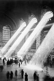Sunbeams in Grand Central Station Poster