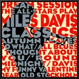 Dream Session : The All-Stars Play Miles Davis Classics Framed Canvas Print