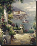Capri Vista I Stretched Canvas Print by Peter Bell