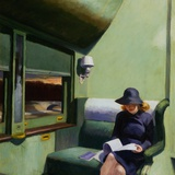 Compartment C, Car 293 Art by Edward Hopper