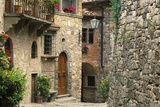 Tuscan Stone Houses Prints by William Manning