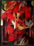 The Fox, 1913 Framed Canvas Print by Franz Marc