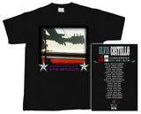 Elvis Costello - Guitar Neck Silhouette 2005 Tour T-shirts