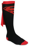 Superman Cape Knee High Socks Novelty