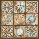 Sea Isle Collage II Prints by Paul Brent