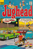 Archie Comics Retro: Jughead Comic Book Cover No.185 (Aged) Prints