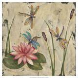 Dancing Dragonflies II Affiches par Jade Reynolds
