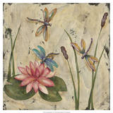 Dancing Dragonflies II Prints by Jade Reynolds