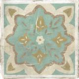 Embellished Rustic Tiles II Giclee Print by Chariklia Zarris