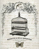 French Birdcage II Poster by Gwendolyn Babbit