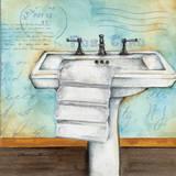 Cleanse Bath Posters af Donna Knold