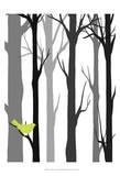 Forest Silhouette I Poster von Erica J. Vess
