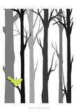 Forest Silhouette I Prints by Erica J. Vess