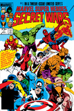 Secret Wars No.1 Cover: Captain America Plakater af Mike Zeck