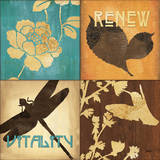 Organic Nature IV Posters af Debbie DeWitt