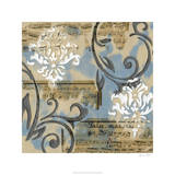 Notes & Scrolls I Limited Edition by Jennifer Goldberger