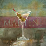 Martini Posters by Lynnea Washburn