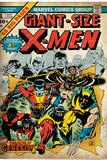 Marvel Comics Retro: The X-Men Comic Book Cover 1 (aged) Prints