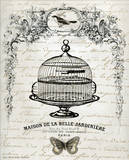 French Birdcage I Posters by Gwendolyn Babbit
